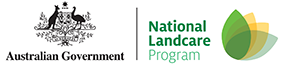 Australian Government's National Landcare Program logo
