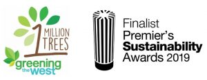 Greening the West 1 Million Trees finalist Premiers Sustainability Awards 2019