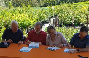 PPWCMA partnership agreement signing with Middle Yarra Landcare Network